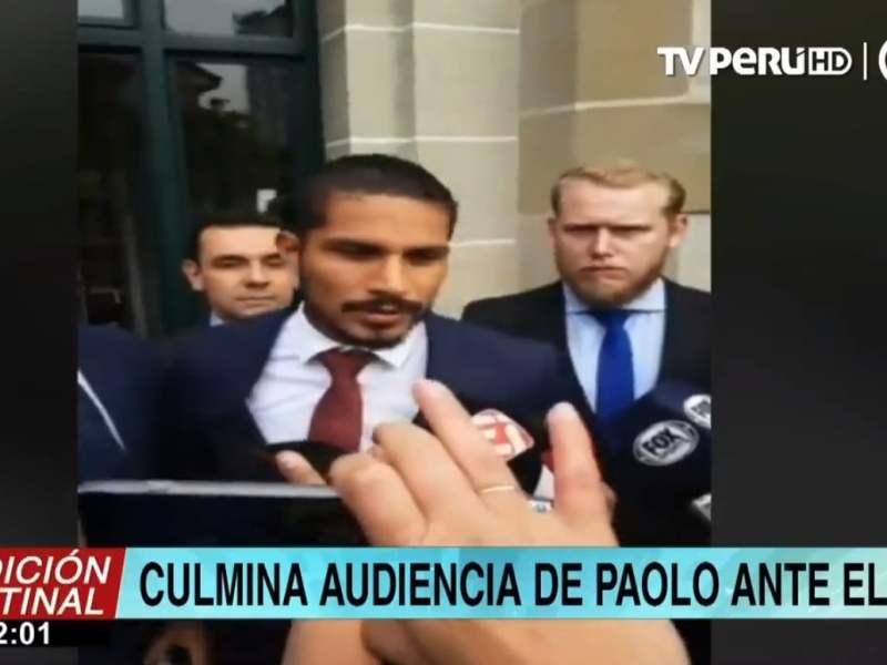 Paolo Guerrero sale del TAS