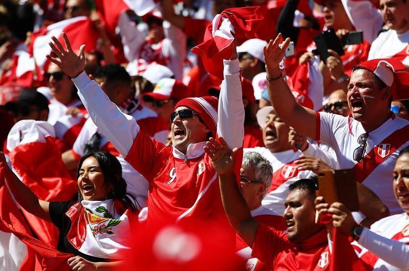 Perú en Rusia 2018