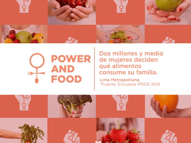 """""""Power and Food"""", proyecto con enfoque de género cuyo concepto tiene como protagonistas a las mujeres peruanas"""