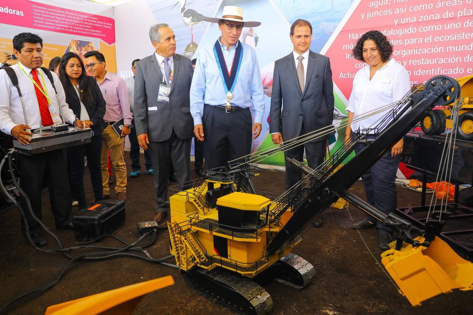 Presidente Vizcarra invita a invertir en la minería con responsabilidad ambiental