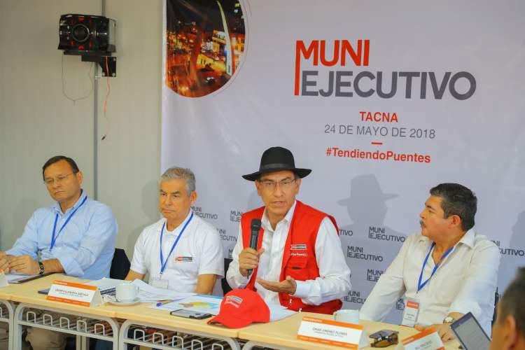 El presidente Vizcarra aseguró que las transferencias otorgadas generarán de inmediato una dinámica económica por un incremento de la inversión pública.