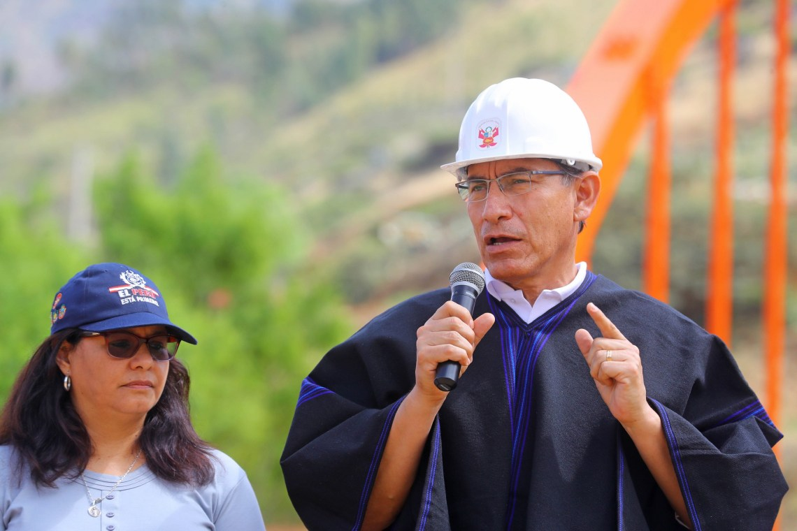 El presidente Vizcarra reiteró que los integrantes del Ejecutivo viajarán semanalmente a las regiones.