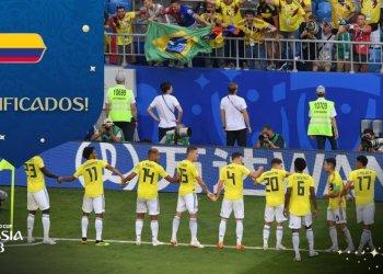 Colombia clasifica a Octavos de Final