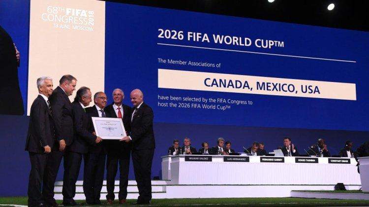 El Mundial de fútbol 2026 se disputará en América del Norte.