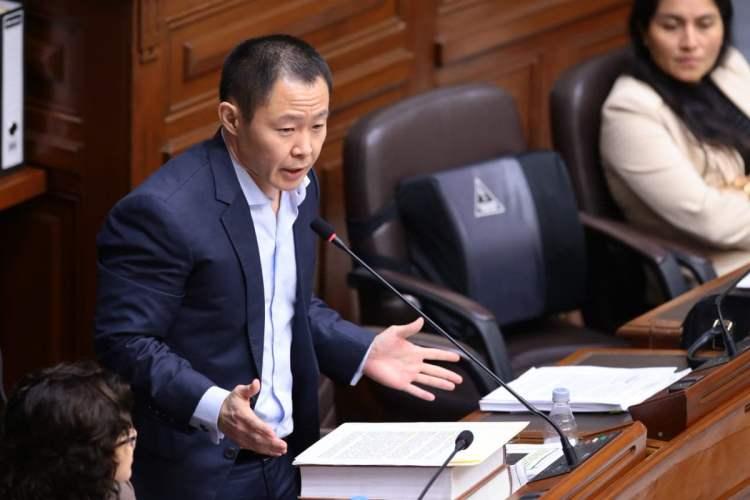 Kenji Fujimori arremetió contra su hermana Keiko y el partido Fuerza Popular tras ser suspendido en el Congreso.