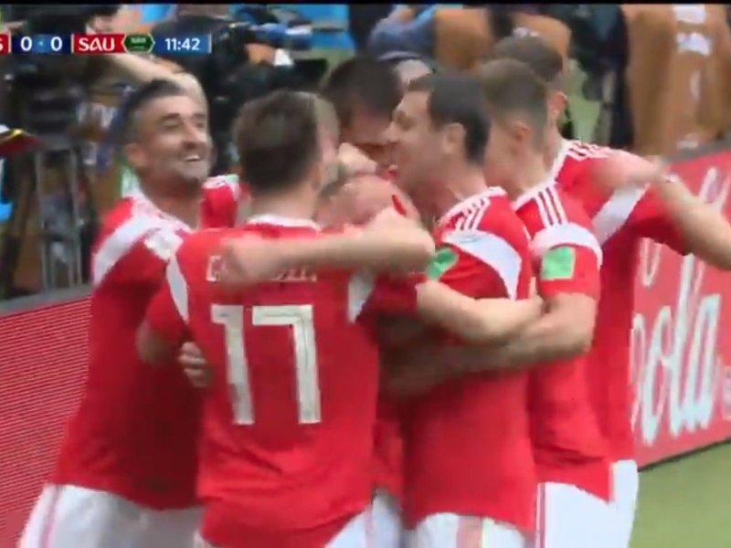 Los 5 goles de Rusia / VIDEO YouTube Latina / FIFA (Latina tiene los derechos exclusivos de difusión en Perú)