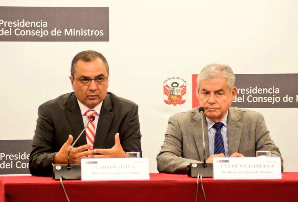 Carlos Oliva dio a conocer los lineamientos de la política económica nacional que ejecutará en su gestión.