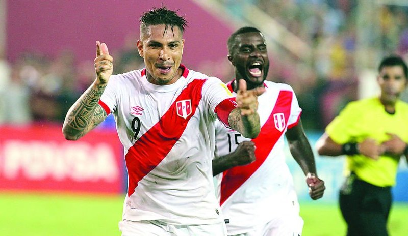 Paolo Guerrero y Selección Peruana