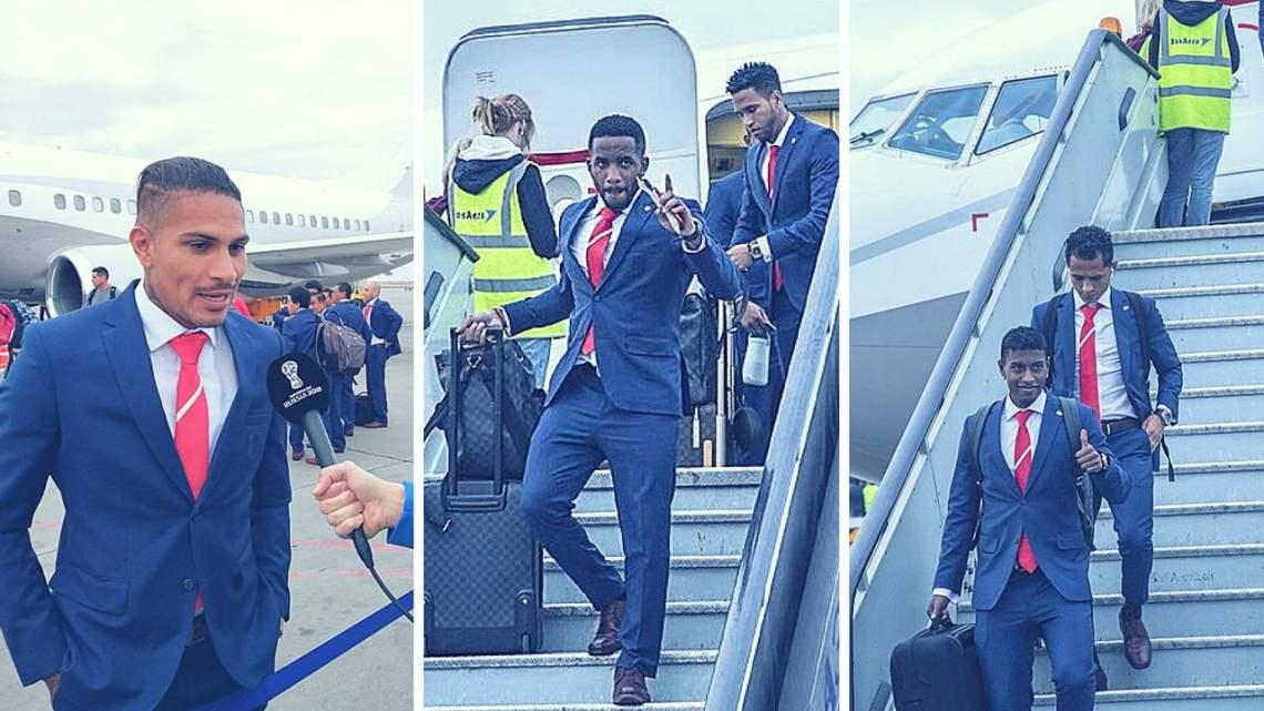 Selección peruana llega a Rusia