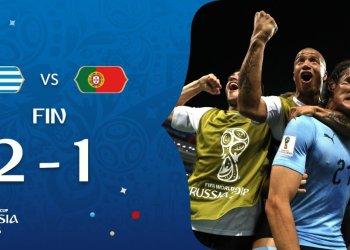 Uruguay derrota a Portugal