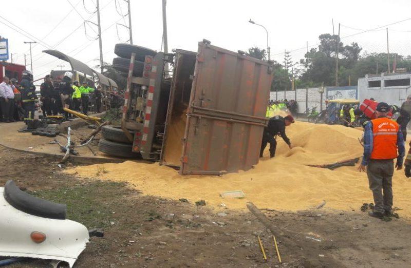 Accidente en Surco