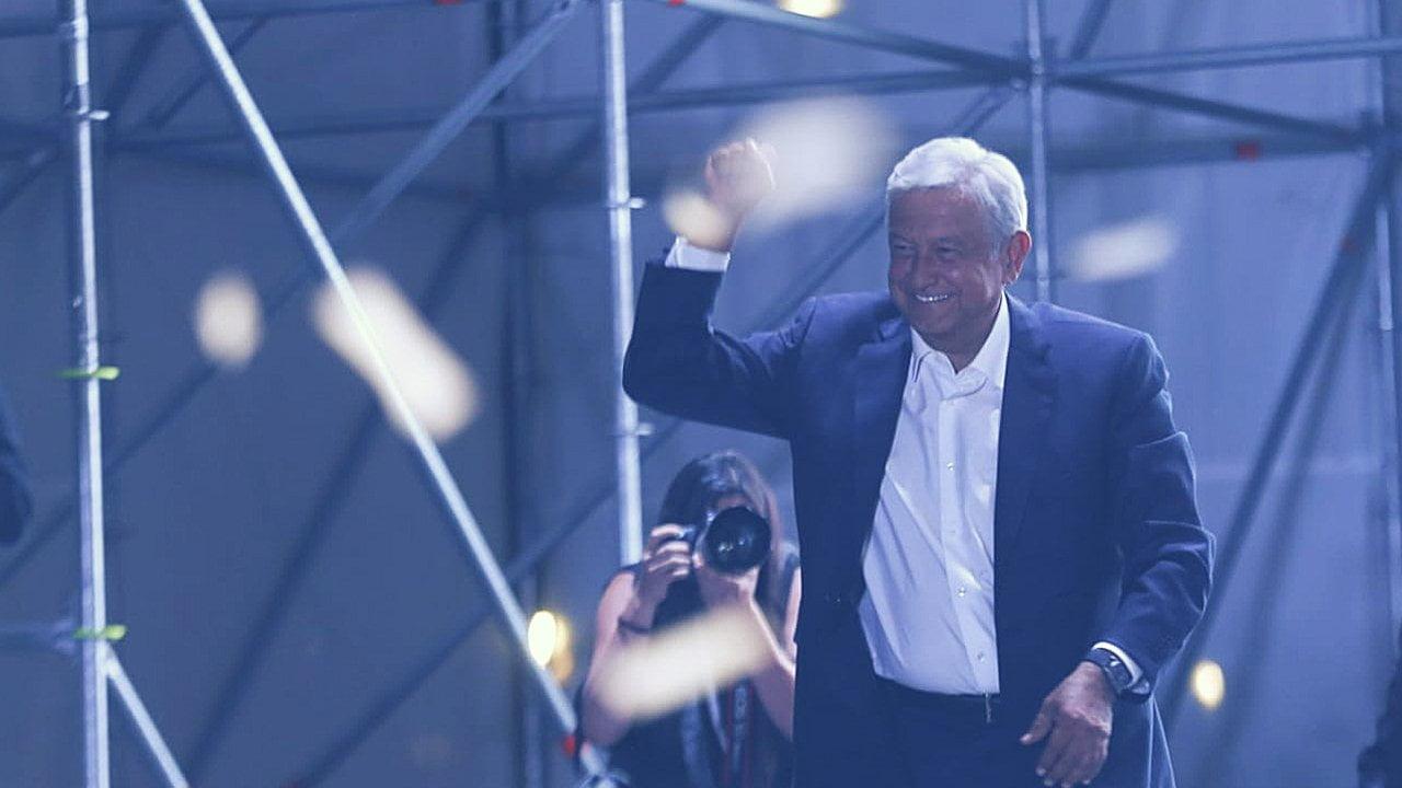 Andrés Manuel López Obrador nuevo presidente de México