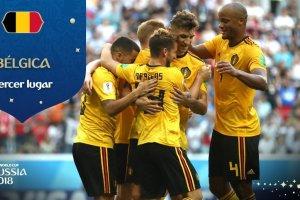 Bélgica ganó 2-0 a Inglaterra y se queda con el tercer puesto de Rusia 2018