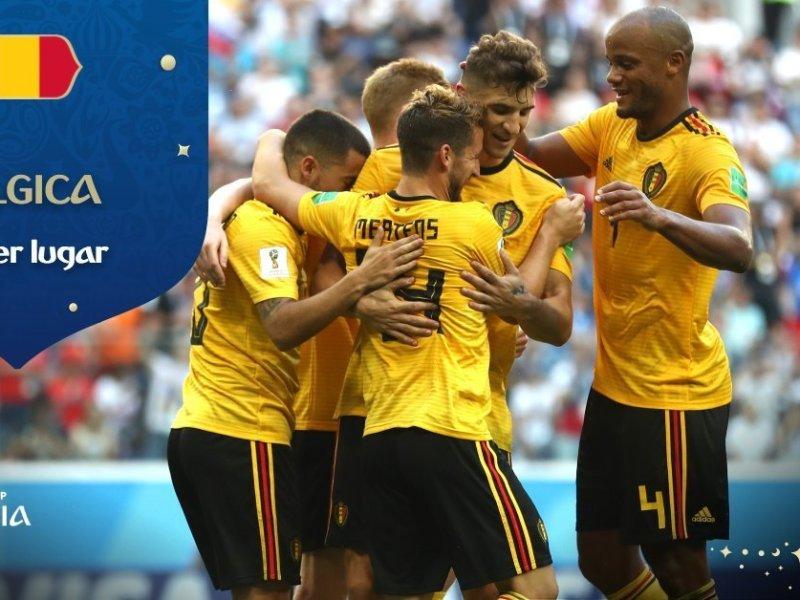 Bélgica se queda con el tercer lugar de Rusia 2018