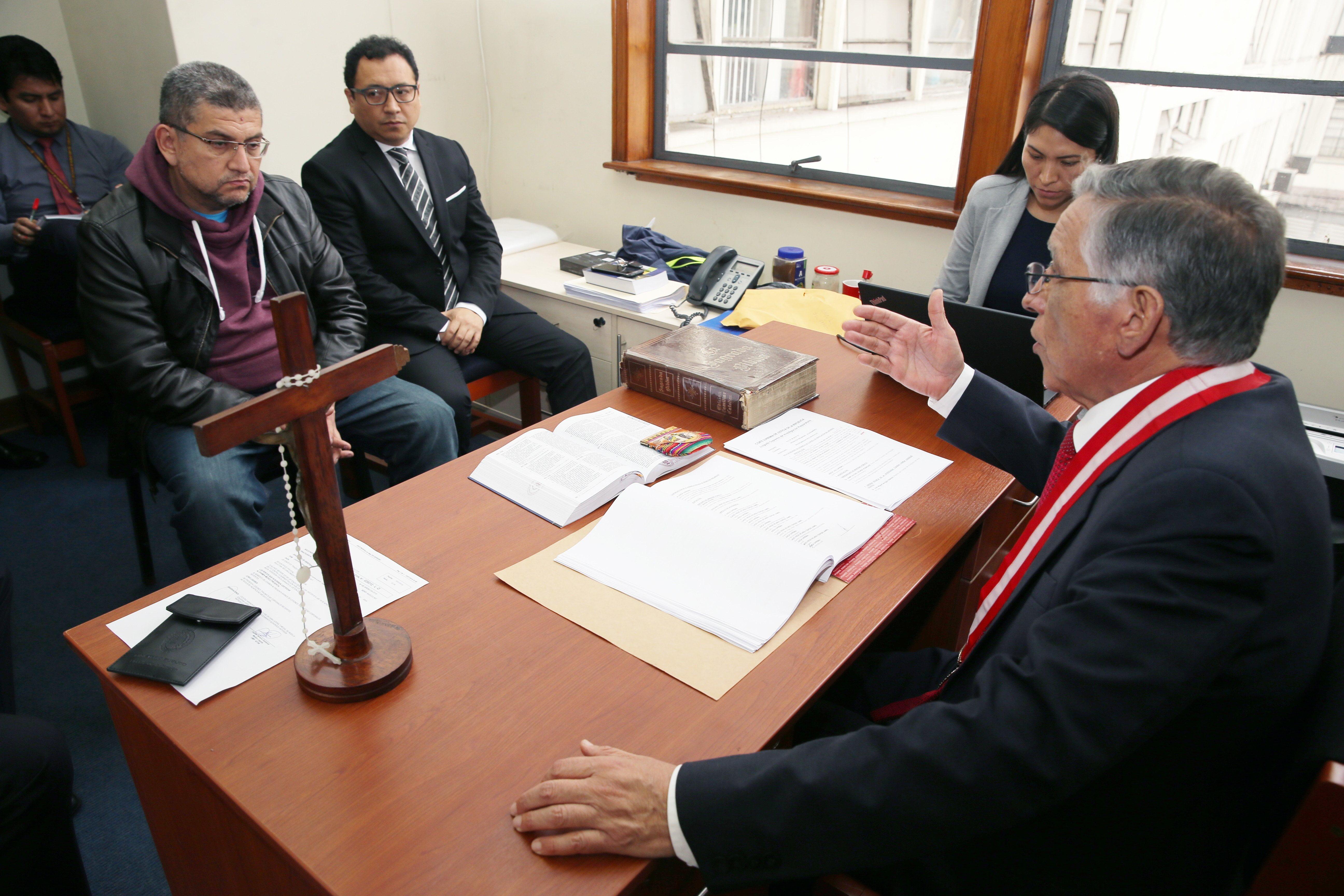 PJ realizó diligencia de control de identidad de detenido Walter Ríos