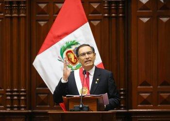 El presidente Vizcarra dio un mensaje a la nación que duró una hora con 45 minutos.