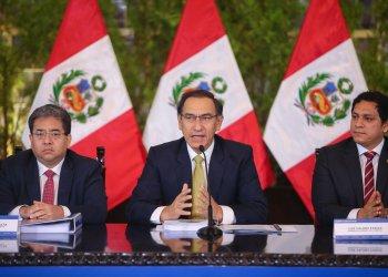 El presidente Vizcarra remarcó que es importante que las obras en ejecución que se vienen realizando en país continúen con las nuevas autoridades que serán electas en octubre.