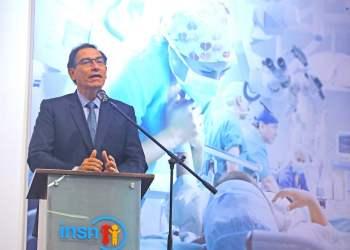 El presidente Vizcarra recalcó que su prioridad es mejorar la educación y la salud pública.