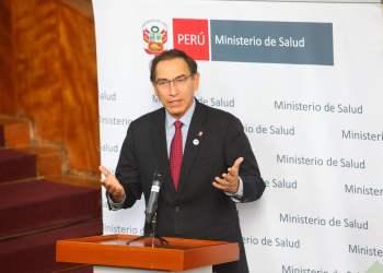 El presidente Vizcarra sostuvo que su gobierno priorizará la educación y la salud.