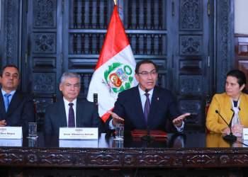 El presidente Vizcarra aseguró que nuevo titular de Justicia tendrá experiencia y conocimiento del sector.