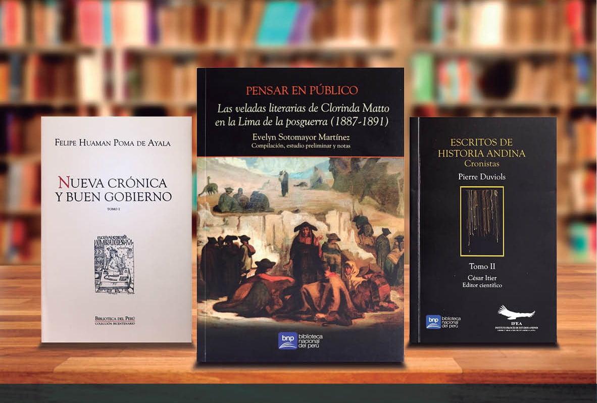 La Feria del Libro sigue gracias a la Biblioteca Nacional del Perú