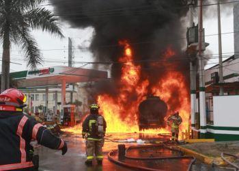 Incendio en Breña causó pánico