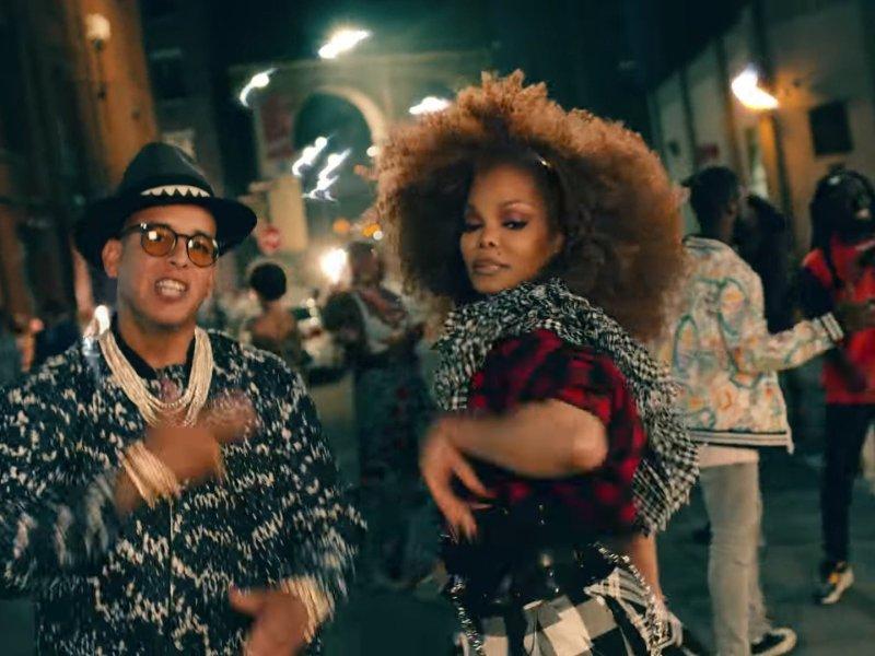 Janet Jackson estrena videoclip en YouTube junto a Daddy Yankee