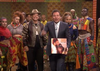 Janet Jackson y Daddy Yankee en The Tonight Show Starring Jimmy Fallon