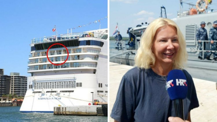 Mujer sobrevivió 10 horas en el mar con yoga y canto tras caer de crucero