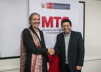 MTC: Reino Unido interesado en desarrollar y acompañar proyectos de infraestructura de transporte en el Perú