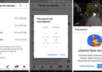 YouTube ahora te informa cuanto tiempo inviertes en ver sus videos