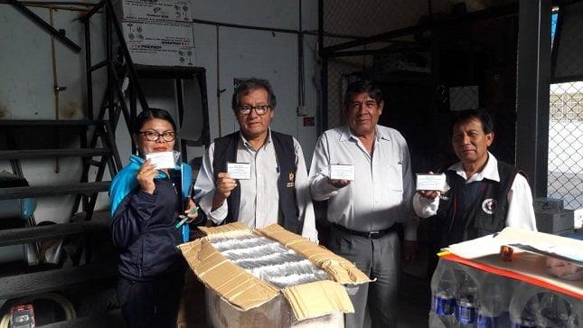 Minsa entrega más de 20 mil mantas térmicas a nueve regiones afectadas por bajas temperaturas