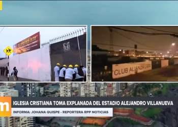 Iglesia cristiana toma estadio Alianza Lima
