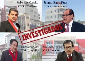 Así va la investigación de OCMA a cuatro presidentes de cortes superiores