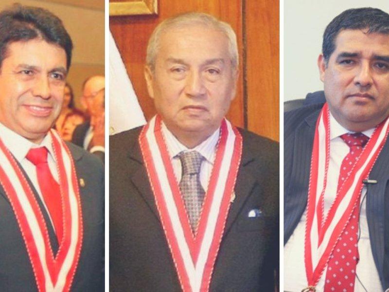 Piden la renuncia de Pedro Chávarry, Tomás Gálvez y Rodríguez Monteza