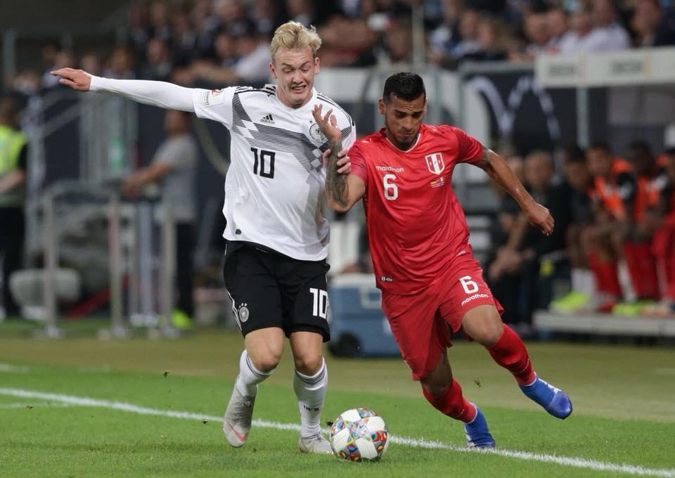 Selección Peruana no pudo ante Alemania