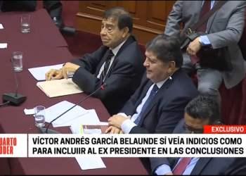 Alan García en comisión Lava Jato
