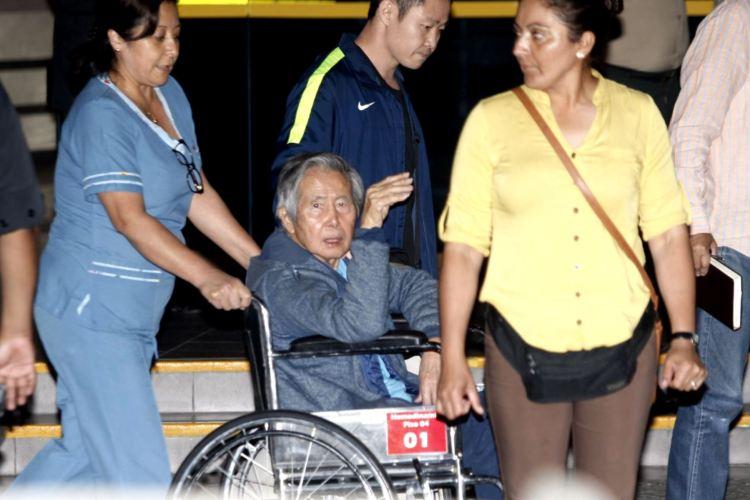 """Alberto Fujimori: """"No hay dolor más grande que ver a mi hija detenida"""""""