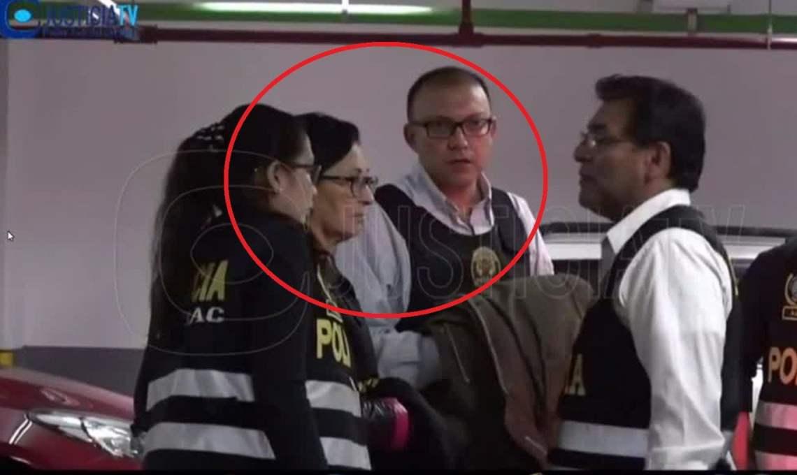 Ana Herz y Pier Figari, asesores de Keiko Fujimori pasan control judicial | VIDEO