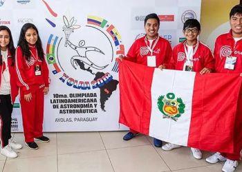 Escolares traen plata y bronce en X Olimpiada Latinoamericana de Astronomía y Astronáutica