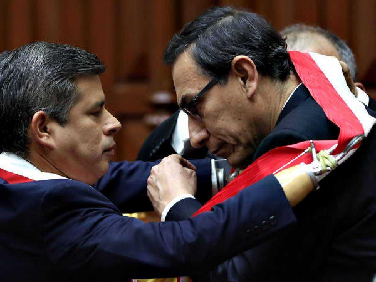 Luis Galarreta no cree que aprobación de 61% de Martín Vizcarra