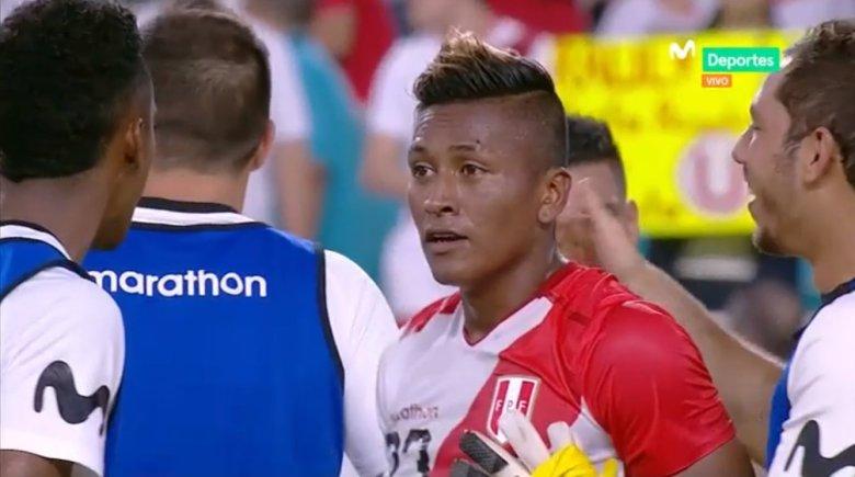 Pedro Aquino la estrella del Perú vs Chile