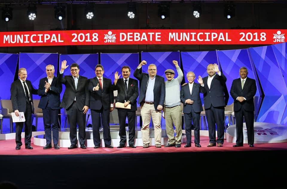 Segundo debate municipal 2018