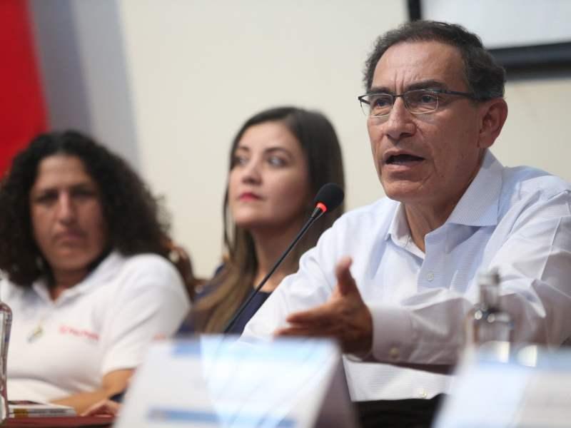 Martín Vizcarra aún no decide si dará salvoconducto a Alan García
