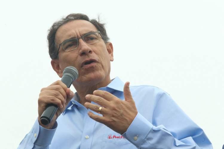 Martín Vizcarra recuerda a Tabaré Vásquez compromiso de enfrentar la corrupción