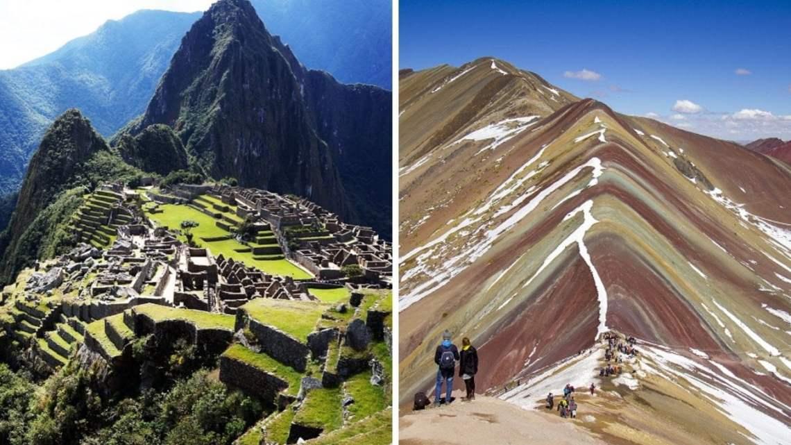 """Machu Picchu y """"Montaña de los Siete Colores"""" en top 30 de paisajes más hermosos"""