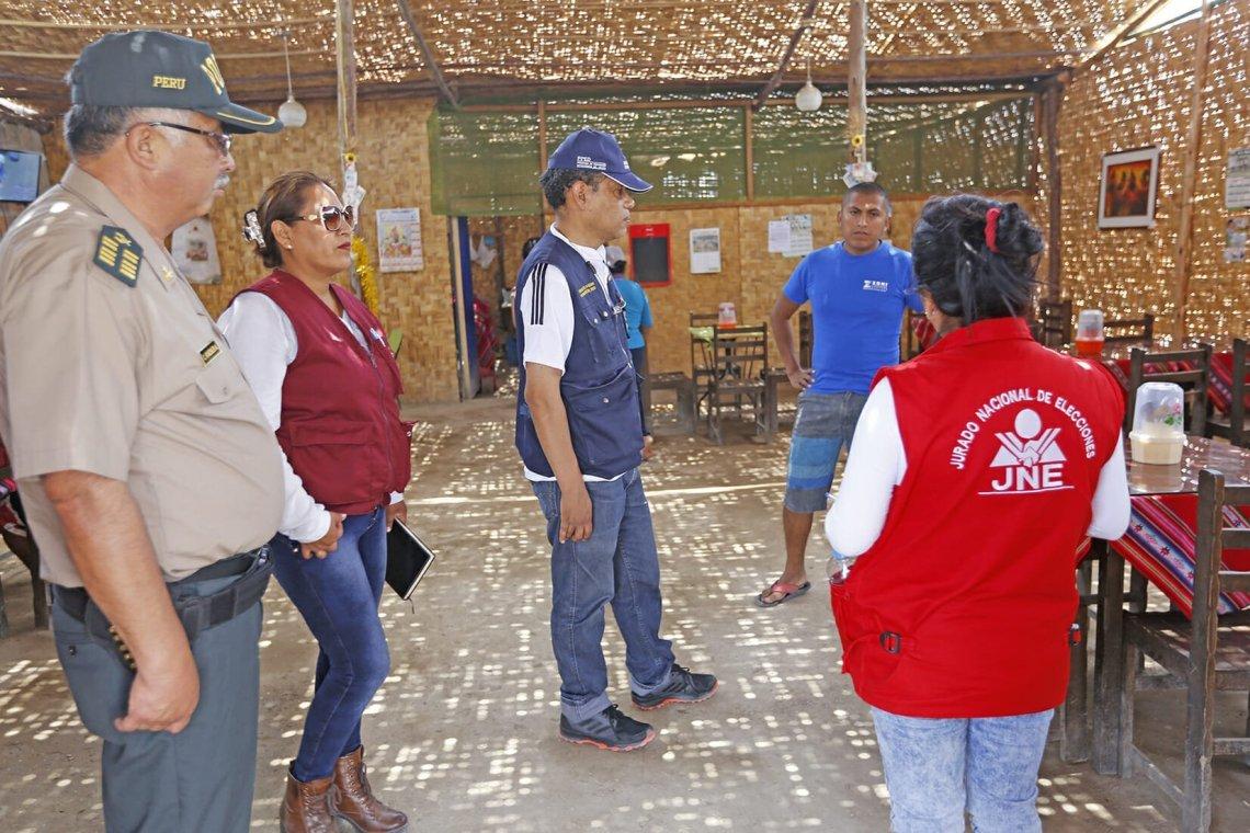 Tres restricciones electorales en el Perú vigentes desde el lunes