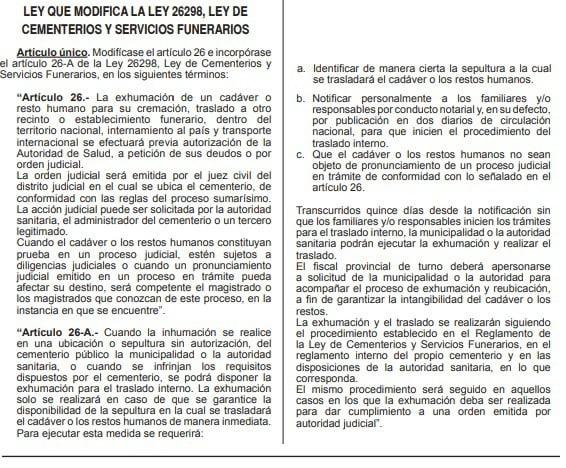 Norma del diario oficial El Peruano