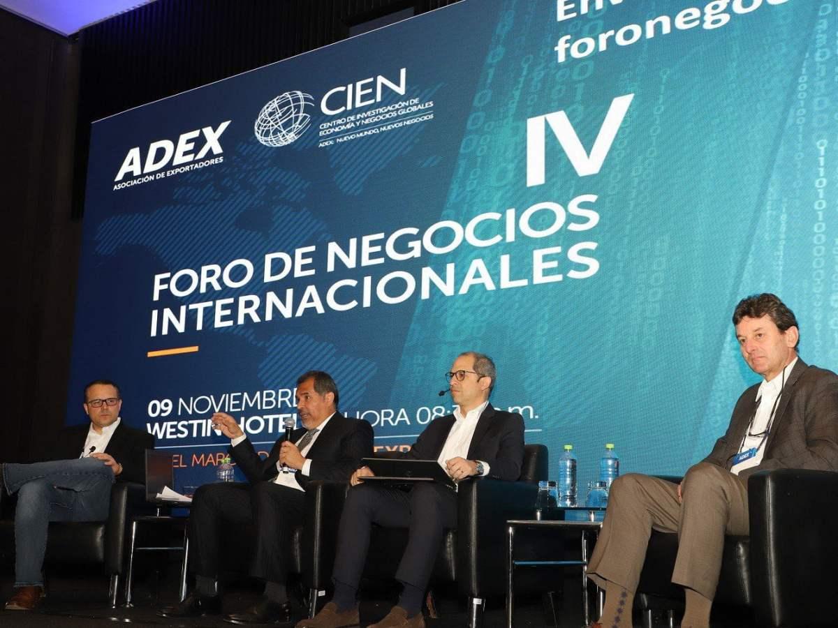 ADEX: exportaciones retomarán crecimiento con apoyo de instituciones