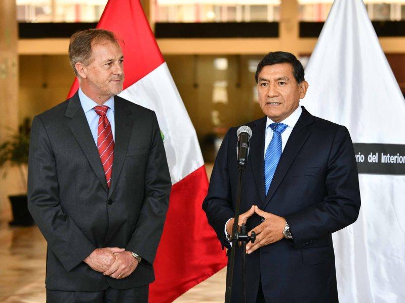 Los planes del alcalde Muñoz y ministro del Interior contra la delincuencia